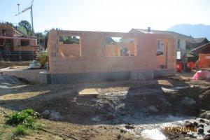 Neubau eines Einfamilienhaus in Rauhenzell