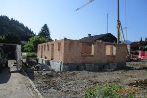 Neubau einer Doppelhaushälfte in Burgberg